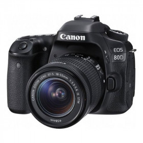 DSLR Canon EOS 80D Kit EF-S 18-55mm