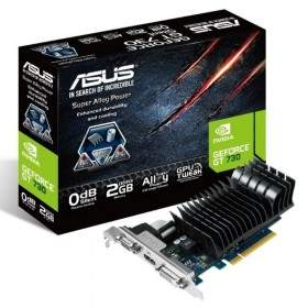 GPU / VGA Card Asus GeForce GT730 KEPLER 2GB DDR3 64 Bit