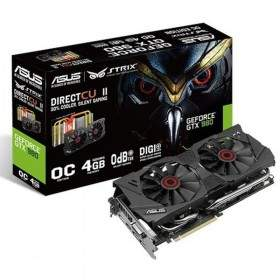 GPU / VGA Card Asus Geforce GTX 980 DirectCU II OC 4GB DDR5 STRIX