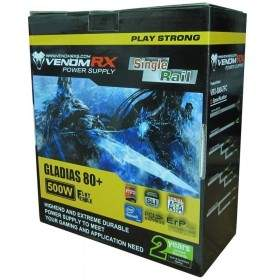 Power Supply Komputer VenomRX Gladias 80+ 500W