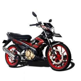 Sepeda Motor Suzuki Satria Black Fire II 150