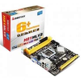 Motherboard BIOSTAR H81MLV3 1150