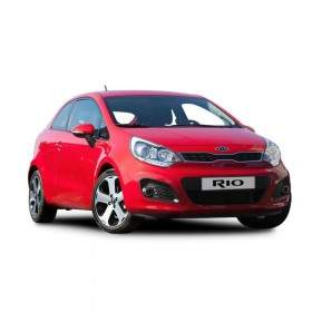 Mobil Kia Rio 1.4 Gasoline engine 5MT