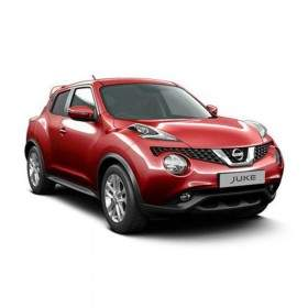 Mobil Nissan Juke 1.5 RX Red Interior
