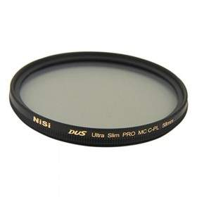 Filter Lensa Kamera Nisi PRO MC CPL 58mm