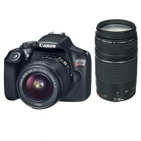 DSLR Canon EOS Rebel T6 Kit 18-55mm + 75-300mm