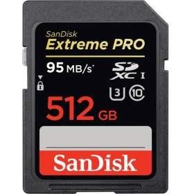 SanDisk Extreme Pro SDXC Class 10 512GB