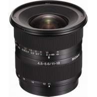 Sony DT 11-18mm f / 4.5-5.6 Wide Zoom Lens