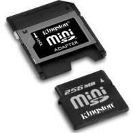 Kingston miniSD 256MB
