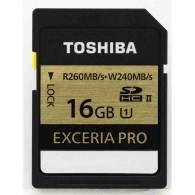 Toshiba Exceria Pro SDHC UHS-II 16GB