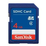 SanDisk SDHC Card Class 4 4GB