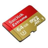 SanDisk Extreme microSDXC Class 10 64GB