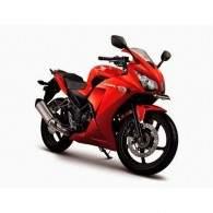 Honda CBR 250R Millenium Red
