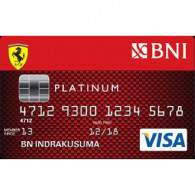 BNI Ferrari Credit Card