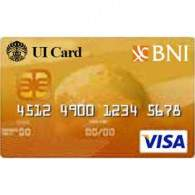BNI UI Card Gold