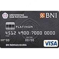 BNI Universitas Sam Ratulangi Card Platinum