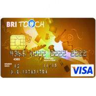 BRI Touch Visa Gold