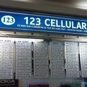 123 Cellular - ITC Roxy Mas