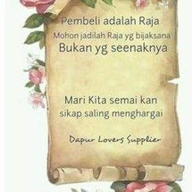 Dapur Lovers Supplier