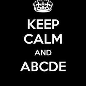 A B C D E . . . !!!!!
